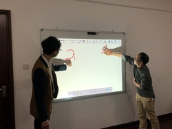 Finger Touch Interactive Whiteboard Smart Board Touch Panel Interactive Presentation for Education