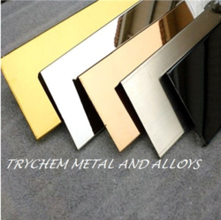 Stainless Steel Mirror Finish Design Sheets
