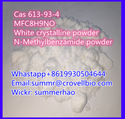 Top purity 99% 613-93-4 seller manufacturer in China +8619930504644Whastapp /telegram N-methylbenzamide