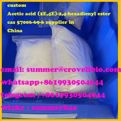 Custom Acetic acid (2E,4E)-2,4-hexadienyl ester +8619930504644 cas 57006-69-6 whatsapp/telegram