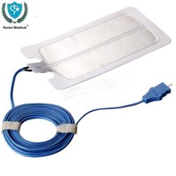 Patient Plate Negative Diathermy Reusable Silicon Patient Plate Negative Return Electrode ESU Grounding pad for patient plate