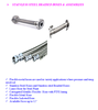 STAINLESS STEEL BRAIDED HOSES & ASSEMBLIES