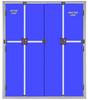 STEEL BULLET PROOF DOUBLE DOORS & FRAMES