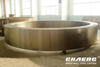 Rotary kiln tyre / kiln riding ring manufacture