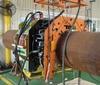 Sand Blasting Equipment for Pipeline