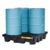 4 Drums spill control pallet