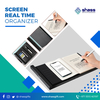 Screen real time organizer