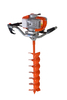 Two stroke 52cc earth auger/ground drill