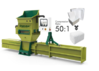 GREENMAX A-C100 Styrofoam compactor for sale