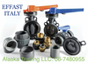 Polypipe Effast Italy HP PVC fittings, Valves