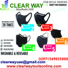 WASHABLE AND REUSABLE CWAY MASKS DEALER IN MUSSAFA ...