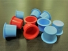 PLASTIC PLUG FOR GAS CYLINDER VALVE IN