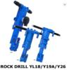 Y20 Pneumatic Rock Hammer Drill