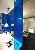 Sapphire blue glass