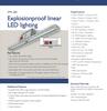 Azz explosionproof linear light fitting XML LED